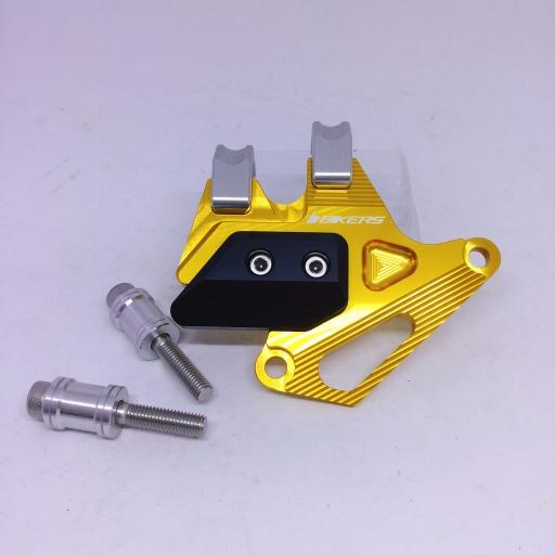 การ์ดคาร์ลิปเปอร์เบรกหน้า HONDA New CBR150R สีทองอ่อน